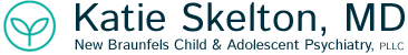 New Braunfels Child & Adolescent Telepsychiatry: Katie Skelton, MD Logo
